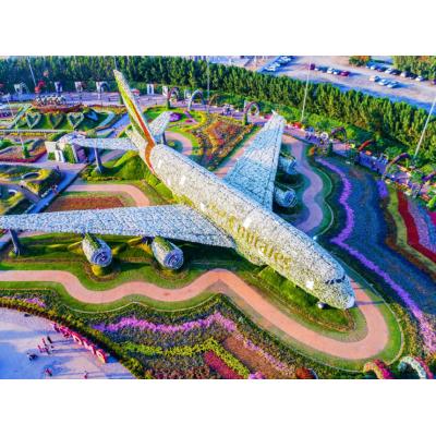 Обзор парка цветов в Дубае