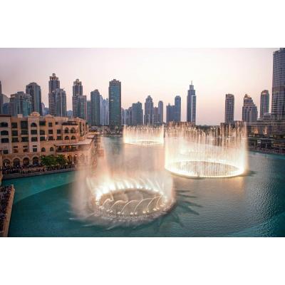 Поющие фонтаны в Дубае: как добраться, обзор