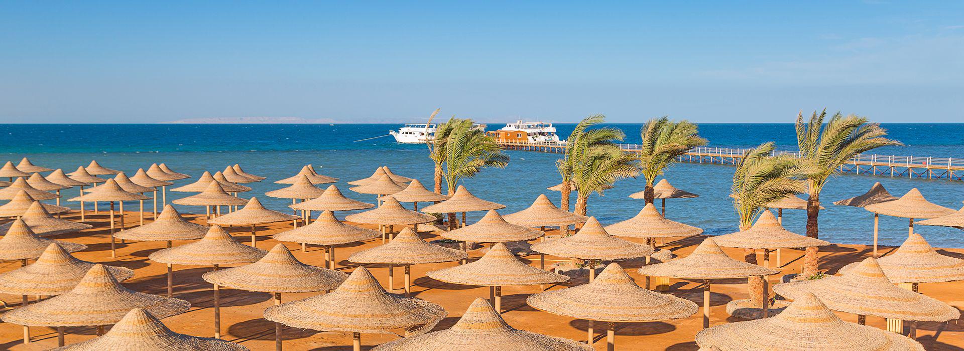 Пляж Хургады Олд-Вик